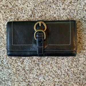 Coach Legacy Black Leather Wallet